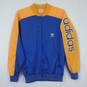 Adidas Vintage Trefoil Track Warm Up Jacket XL E6